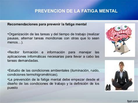 imagenes fatiga mental prevenci 243 n de trastornos a la salud por el uso incorrecto