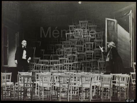 les chaises ionesco les chaises 1975 1976 saisons accueil m 233 moires
