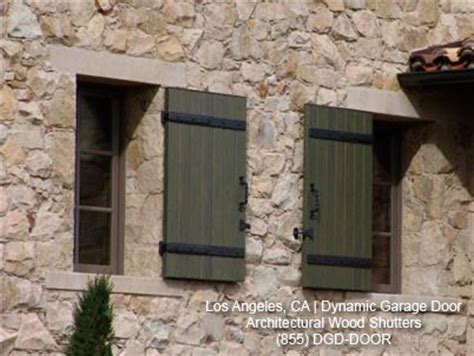 Tuscan Window Shutters Custom Handcrafted Architectural Shutters Mediterranean