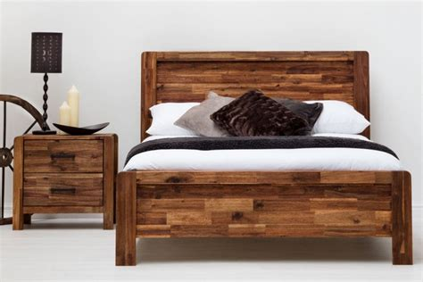 Wooden Slats For Bed Sleep Design Chester 4ft6 Double Rustic Wooden Bed Frame