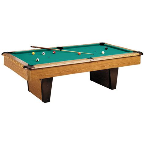 tables pool 8ft oakwood pool table slate bed