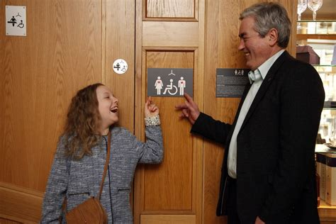 scottish bathroom signs grace warnock makes bathroom sign for people with