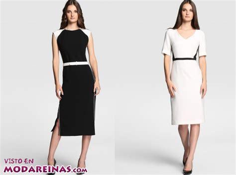vestido negro corte ingles moda en blanco y negro de el corte ingl 233 s