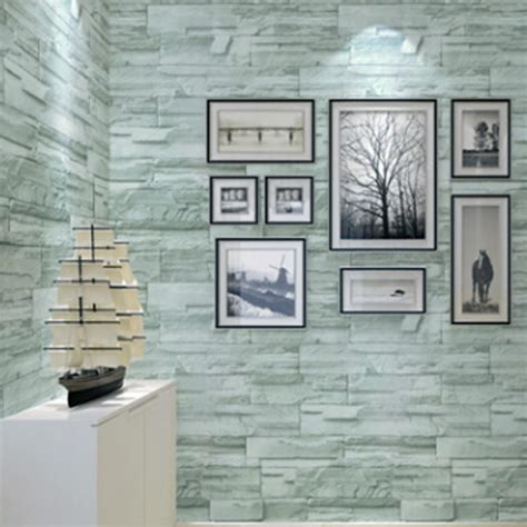 Wallpaper Sticker Uk 45 Cm X 10 M 5 3d sel adhesive brick wall paper embossed 45cm 10m roll home decor tv background simple