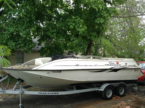 used tracker deck boats for sale tracker party deck 2004 for sale for 2 900 boats from