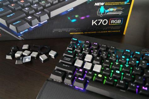 Corsair K70 Rapidfire review corsair k70 rapidfire rgb gamecrate