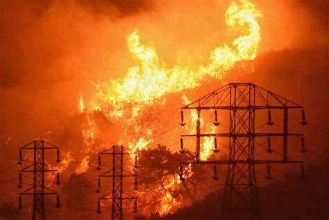 the light of northern fires pg e shuts the power in northern california to prevent