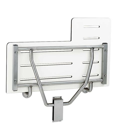 handicap shower bench seat b 5181 reversible folding shower seat