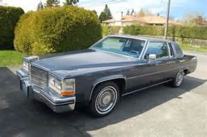 Cadillac Coupe 1984 Buy Used 1984 Cadillac Coupe In Seattle