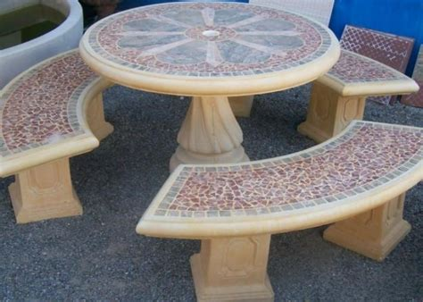 Outside Tables For Sale Garden Furniture Precast Concrete Tables Patio Outdoor