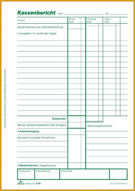 kassenbuch vorlage zum ausdrucken  meltemplates