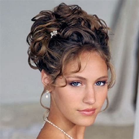 brunette hairstyles updos brunette curly prom updo prom wedding formal