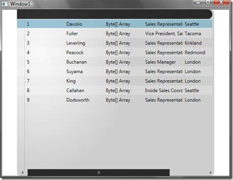 xaml gridview layout how to use custom row layouts in radgridview for wpf