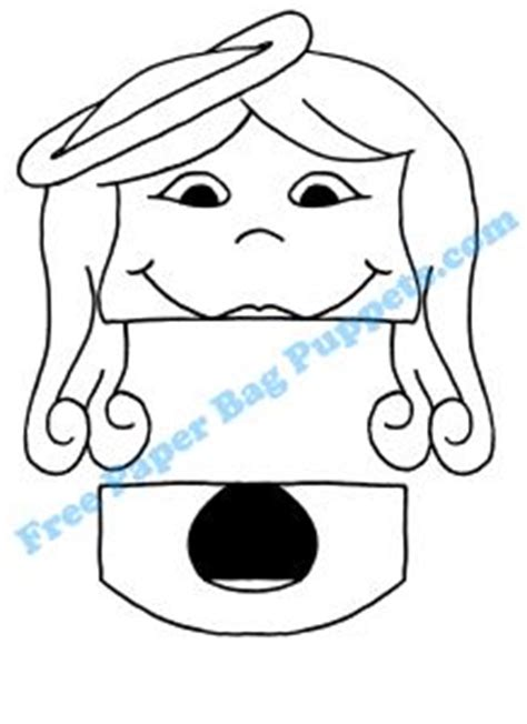 printable christmas paper bag puppets 1000 images about paper bag puppets on pinterest