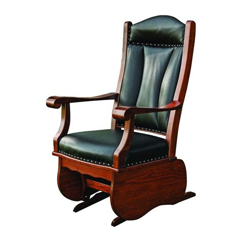 amish recliners buckeye glider amish crafted furniture