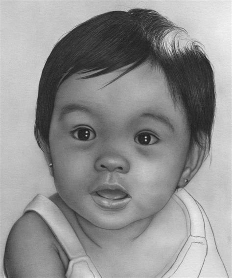 How To Draw Realistic Baby Hair