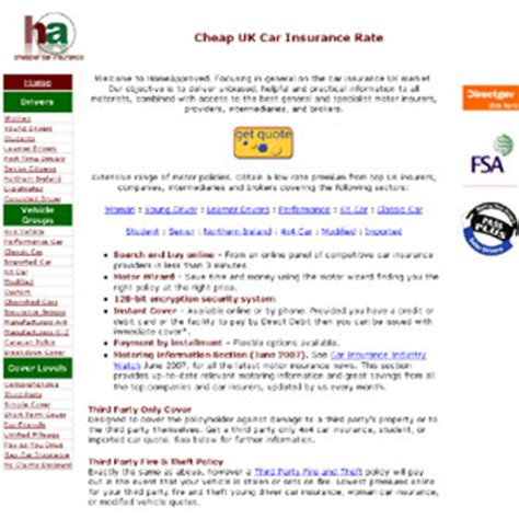 Cheapest Third Car Insurance by Cheap Car Insurance Insurances Investment Fully