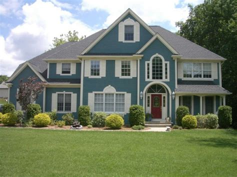 interesting exterior paint colors design ideas exposed classic house with blue roof feat dormer
