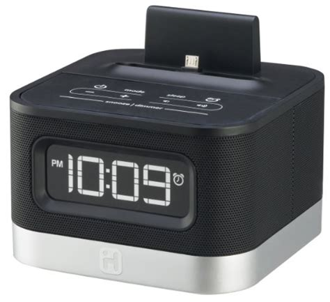 alarm clock android ihome ic50by android alarm clock speaker dock free shipping new 047532898569 ebay