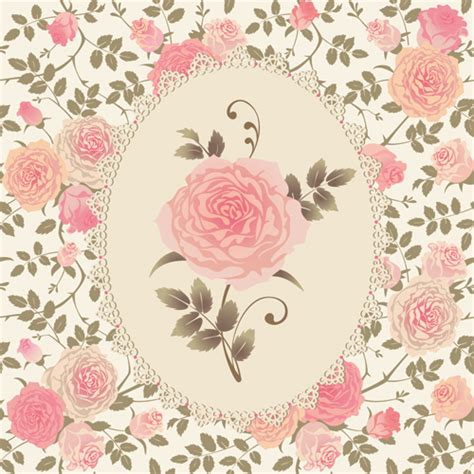 rose pattern background pink rose pattern