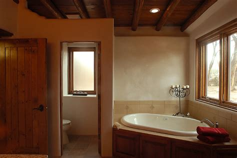 Interior Design Albuquerque by Custom Built Southwestern Home Southwestern Bathroom