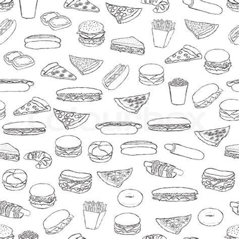 pattern food texture food pattern stock vector colourbox