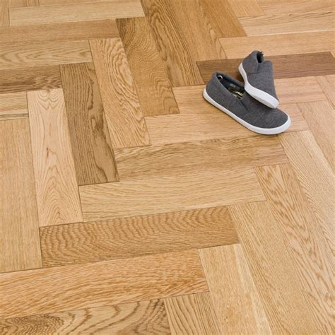 engineered herringbone parquet flooring oak 18 5 x 80mm lacquered 1 68m2 engineered wood from
