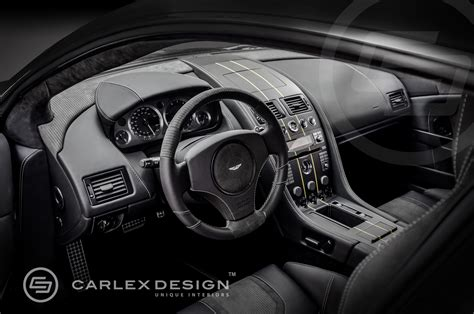 aston martin custom interior official aston martin db9 by carlex design gtspirit