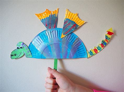 simple craft for learn with play at home simple paper plate craft