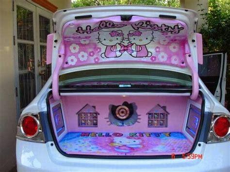 imagenes de hello kitty accesorios wondrland mickey hello kitty car accessories