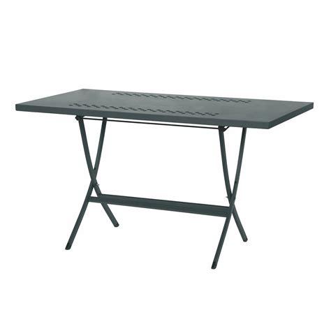 mesas jardin plegables rig73r mesa de metal plegable en distintas medidas