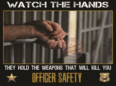 Officer Safety by Corrections Officer Safety Poster
