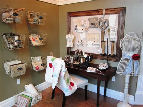 Sewing Room Decor Home Decorating Pictures Vintage Craft Room Ideas