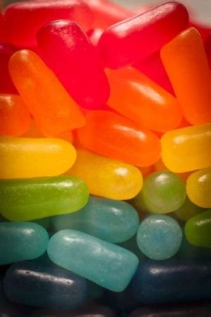 Now N Laters Gum Drops Jelly Beans by Jelly Beans