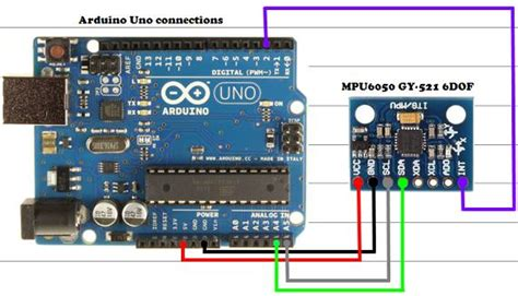 tutorial arduino mpu6050 arduino uno and the invensense mpu6050 6dof imu