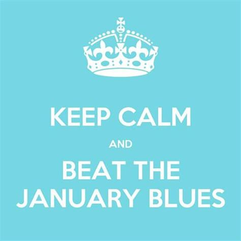 calming blue the flurry and the beat calm blue ocean january blues