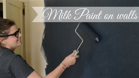 milk paint  walls youtube