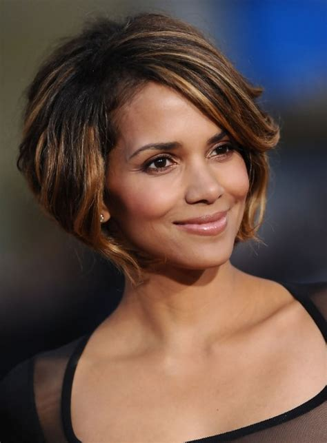 cute chin length haircuts pictures halle berry bob hairstyle cute chin length bob cut