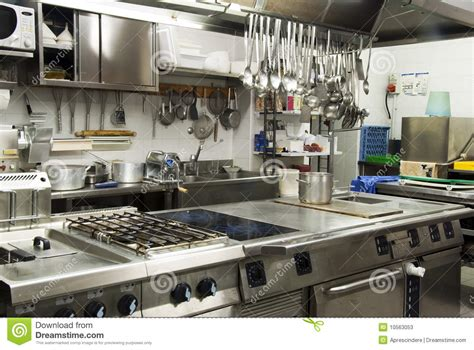 hotel kitchen stock image image of catering hotel