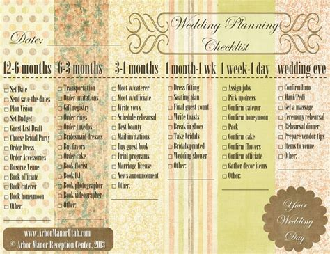 simple printable wedding planner a simple easy wedding planning checklist for your