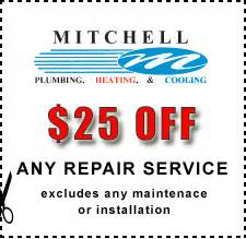 specials mitchell plumbing heating air pittsburgh pa