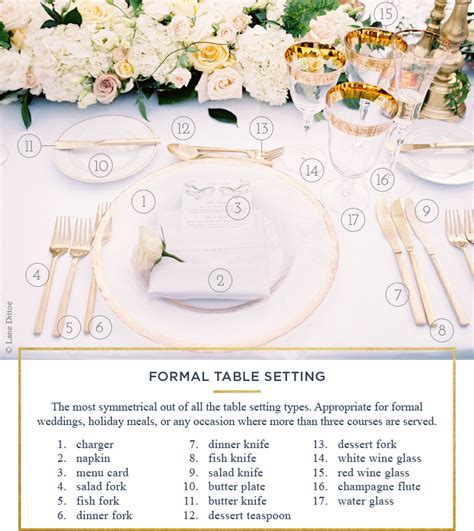 formal table setting table setting rules a simple guide for every occasion