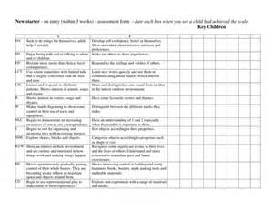 Baseline Report Template baseline assessment entry to pre school age 3 4 by