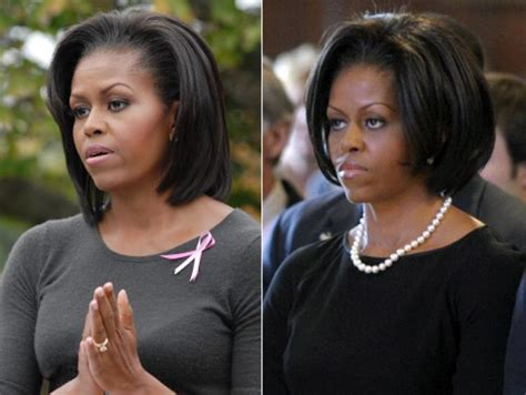 michaele obama ware hair weave michelle obama goes to shorter lengths for a new hairstyle