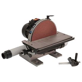 delta bench sander woodworking sanders delta 31 140 12 in 1 2hp benchtop