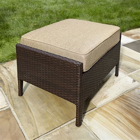 sears ottoman ty pennington style parkside ottoman in tan sears