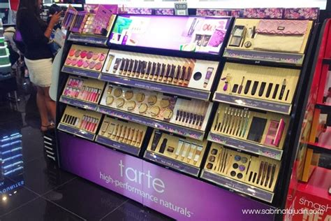 Tarte Sephora tarte cosmetics is now in sephora malaysia sabrina
