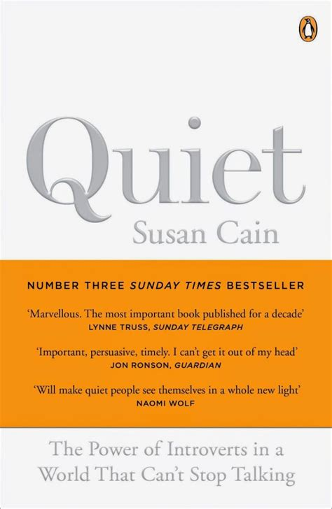"""Susan Cain's """"Quiet"""": The Power of Introverts & My"""