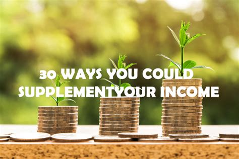 supplement your income 30 ways you could supplement your income morses club