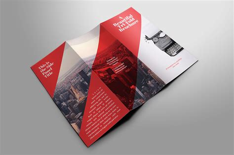 beautiful tri fold brochures brochure templates on